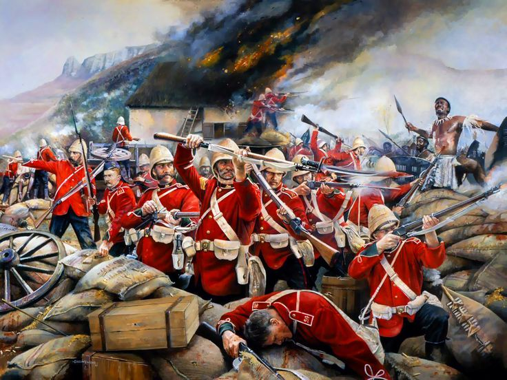 This Heroic Little Garrison, defence of Rorkes Drift- by Chris Collingwood