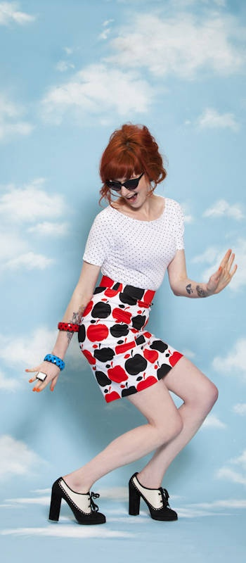 FRECKLES TEE In Stores SEPT 5  SHE'S APPLES SKIRT In Stores OCT 5