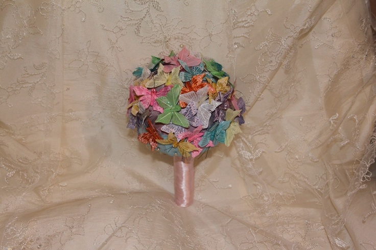 Butterfly Bouquet - Forever button bouquets