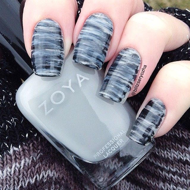 Best 25 fan brush nails ideas on pinterest striped nail art fan brush nails prinsesfo Image collections