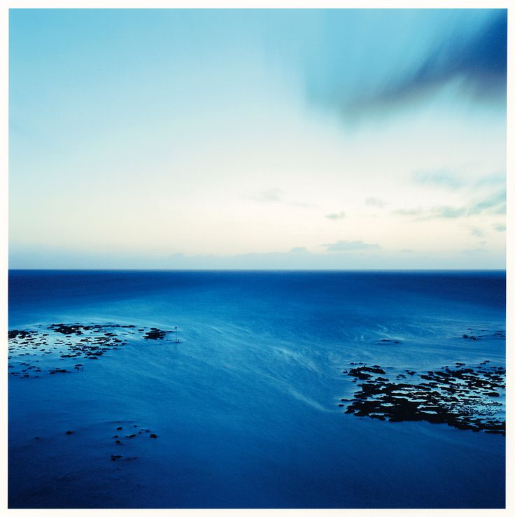 "From the ""Oceanscape"" series; 30"" x 30"" chromogenic print."