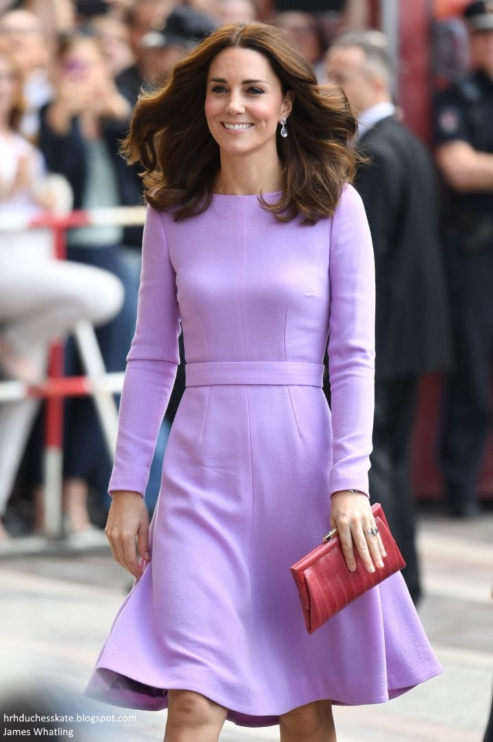 The Cambridges spent the final day of their royal tour of Poland and Germany in Hamburg. The Duke and Duchess travelled from Berlin to ...