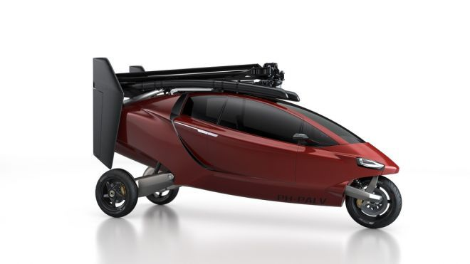 Dutch AERO-AUTOMAKER (yep, you read that right) PAL-V has finished test flights for this flying trike. Woot!