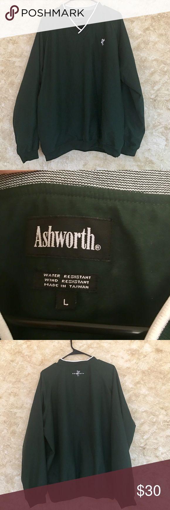 Ashworth pullover golf jacket water and wind proof Men's Ashworth Golf pullover, water and wind resistant Large ashworth Jackets & Coats Windbreakers
