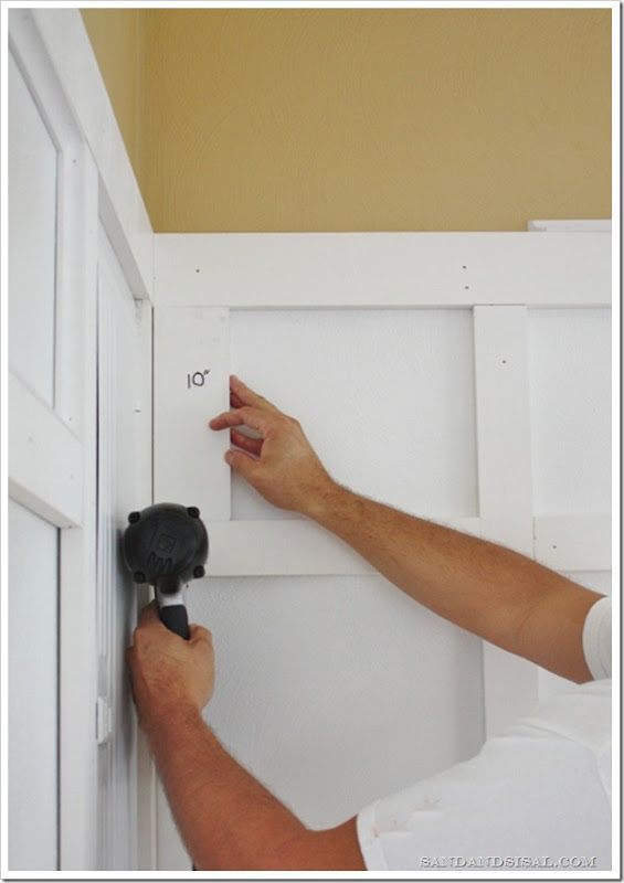 How to install board & batten ! EXCELLENT Tutorial !