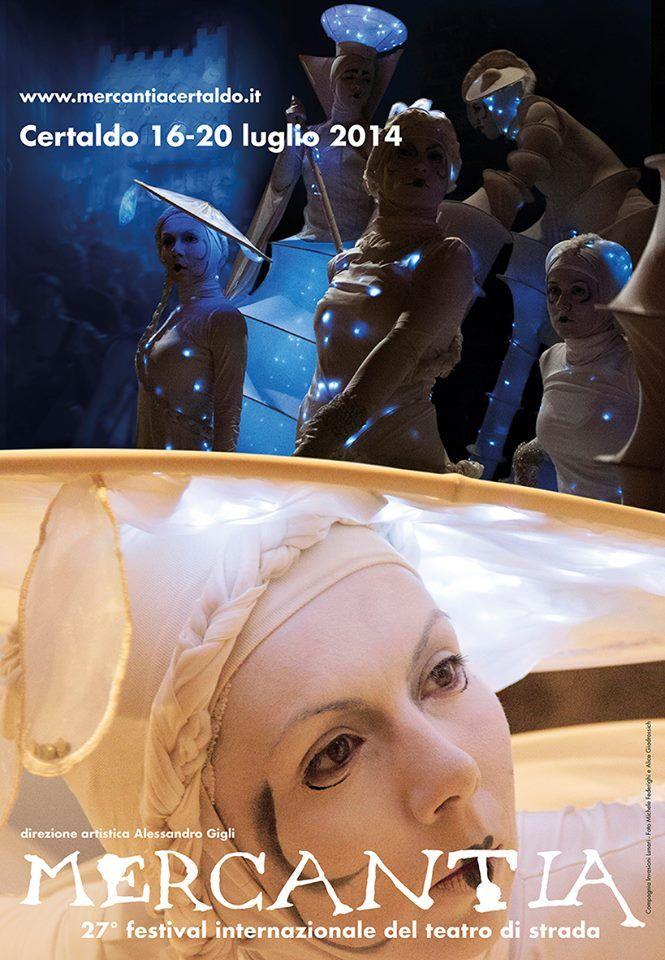 Mercantia 2014. 27° Festival internazionale del teatro di strada. Certaldo. Events Laboratorio Elementi