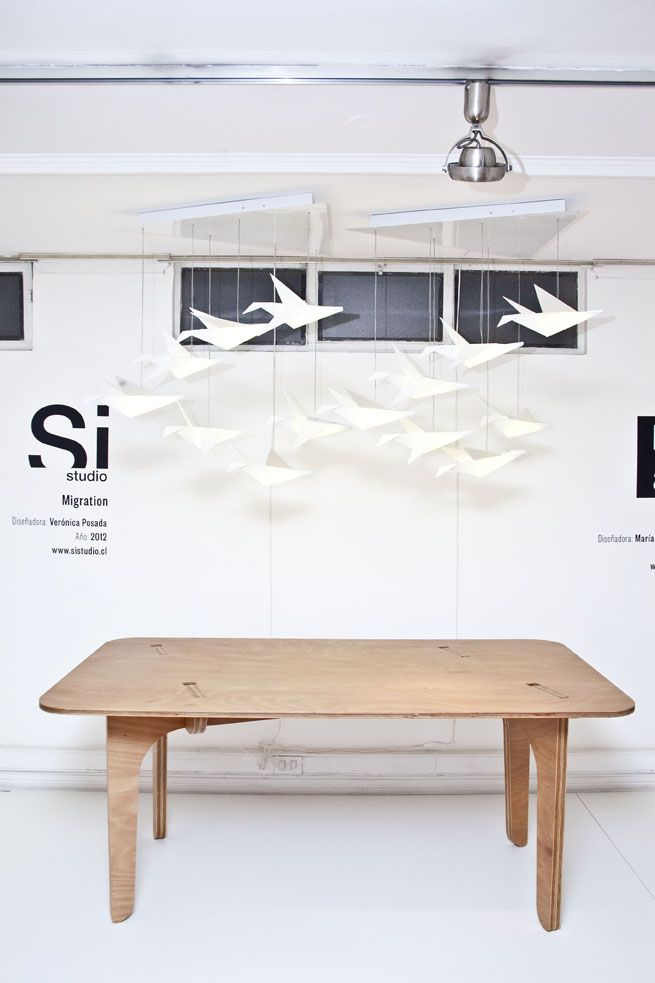 Migration Diseñadora: Verónica Posada Año:2012 — en Casa Mia .
