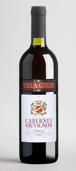 La Delizia - Villa Gruis CABERNET-SAUVIGNON Friuli.