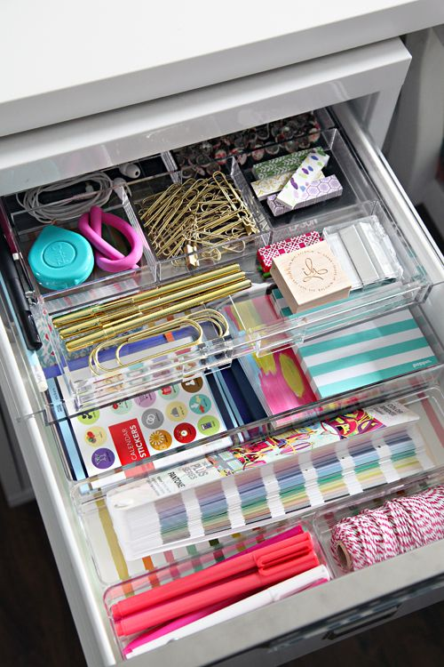 25 best ideas about work office organization on pinterest - How to organize your desk at home ...