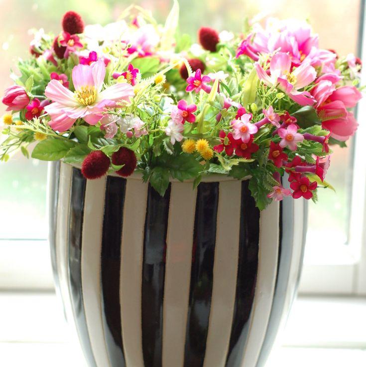 Artificial flowers so beautiful!
