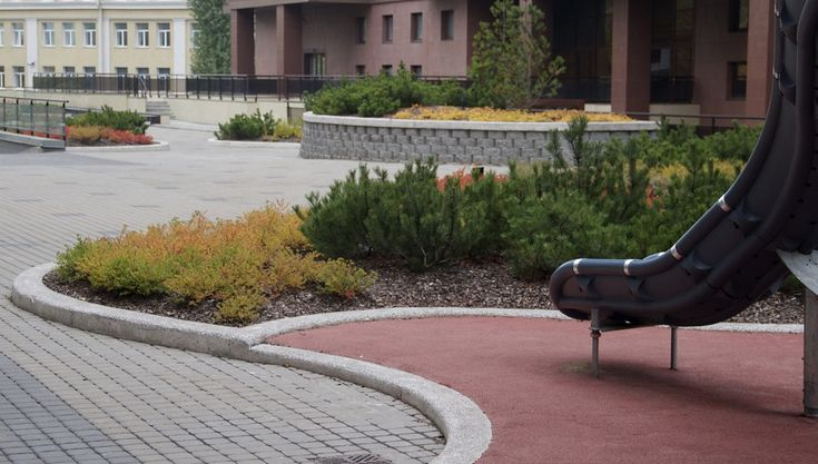 Сад на крыше паркинга | СпецПаркДизайн