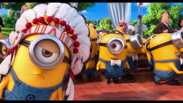 YMCA Minions - The first time I saw this (in cinema) I nearly peed my pants. I was one of the few that was ROFL... People! Where is you sense of humor! God, I feel old when I laugh about stuff people from younger generations don't seem to get. What is the world coming to?