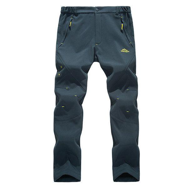 Mens Outdoor <b>Soft Shell</b> Fleece Lined <b>Waterproof</b> Hardwear <b>Skiing</b> ...