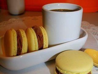 Macarons pralinoise (Ganache montée)