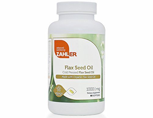 Zahler's Flax Seed Oil is high in alpha-linolenic acid (ALA), which is converted by the body into other important nutrients like DHA and EPA. The Essential Fatty Acids contained in cardiovascular health and can help maintain a healthy balance of fatty acids. Cold pressed from organic flax... more details at http://supplements.occupationalhealthandsafetyprofessionals.com/herbal-supplements/flaxseed/product-review-for-zahler-flax-seed-oil-ultra-enriched-cold-pressed-flax-o