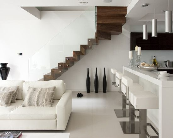 Floating Stairs Design, Pictures, Remodel, Decor and Ideas - page 11