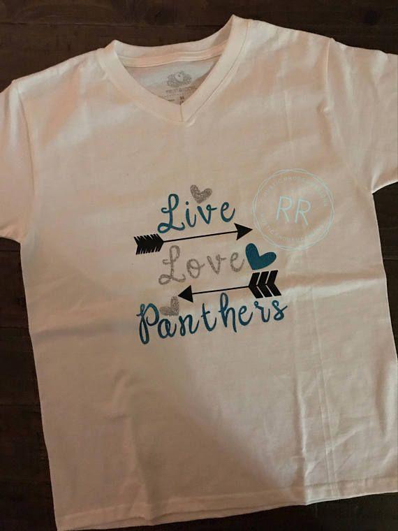 hot sale online 7cbb1 7dbc9 Carolina Panther Baby Girl Onesie, Toddler, Infant, Panthers ...