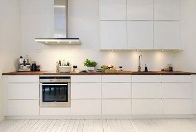 White Ikea kitchen…