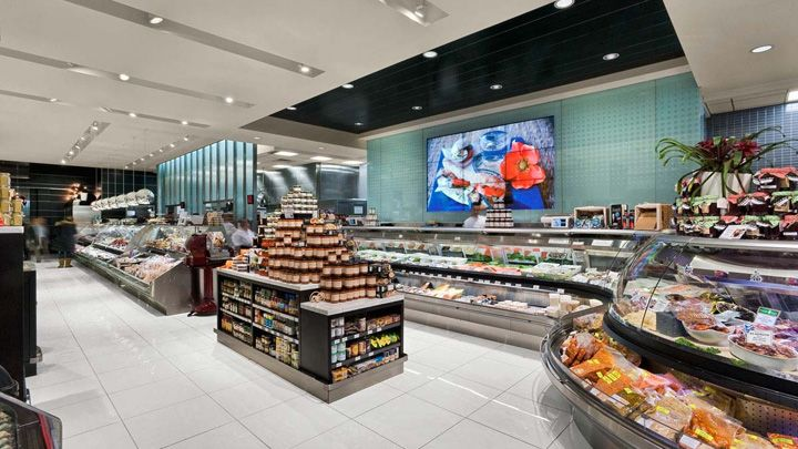 Pusateris gourmet store by GH A Design Toronto