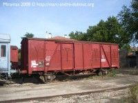 SNCF wagon couvert standard xxxx
