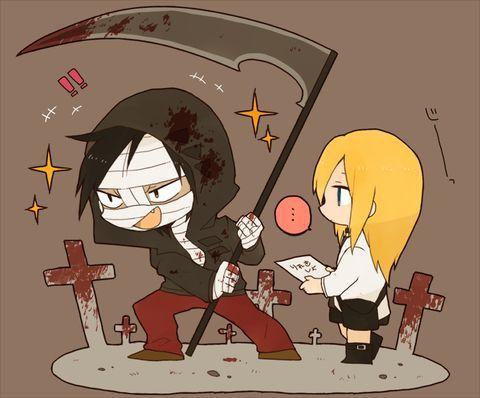 satsuriku no tenshi and angel of slaughter Bild