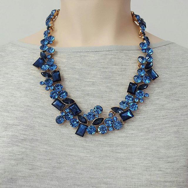 Compra online de manera rápida y segura. Aceptamos todos los medios de pago. Conoce más aquí: www.fairloopstore.com.co #accesorios #bogotá #colombia #bisutería #modafemenina #mujer #collares #azul #moda #fashion #jewelry