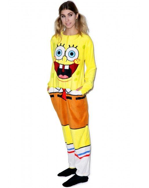 Undergirl Spongebob Onesie | Dolls Kill
