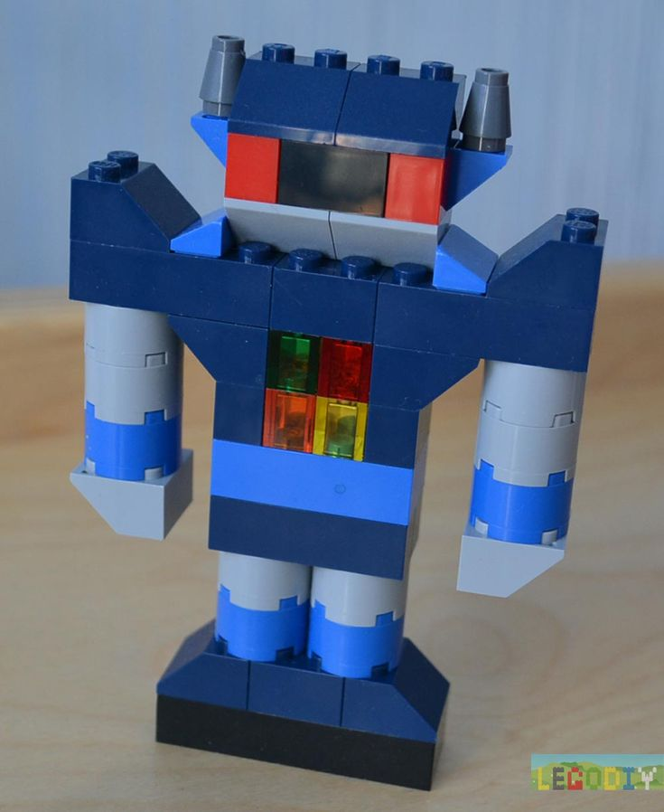 Robot from LEGO instruction
