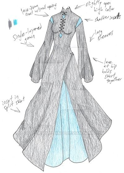 MHcd: Liquid Starlight by LoveLiesBleeding2 on DeviantArt--change the lacing for frog clasps
