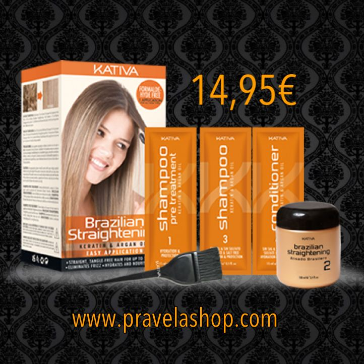 #alisadokeratina #tratamientodekeratina #alisadokeratinabrasileño por solo 14,95€ en www.pravelashop.com