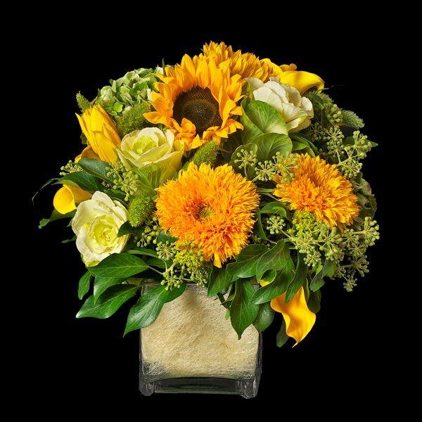 Van Gogh. Centro de girasoles. Envío de flores.