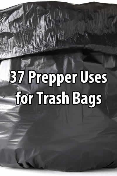 If you're a prepper, you almost can't have too many trash bags. As you'll see, there are many things you can do with them.