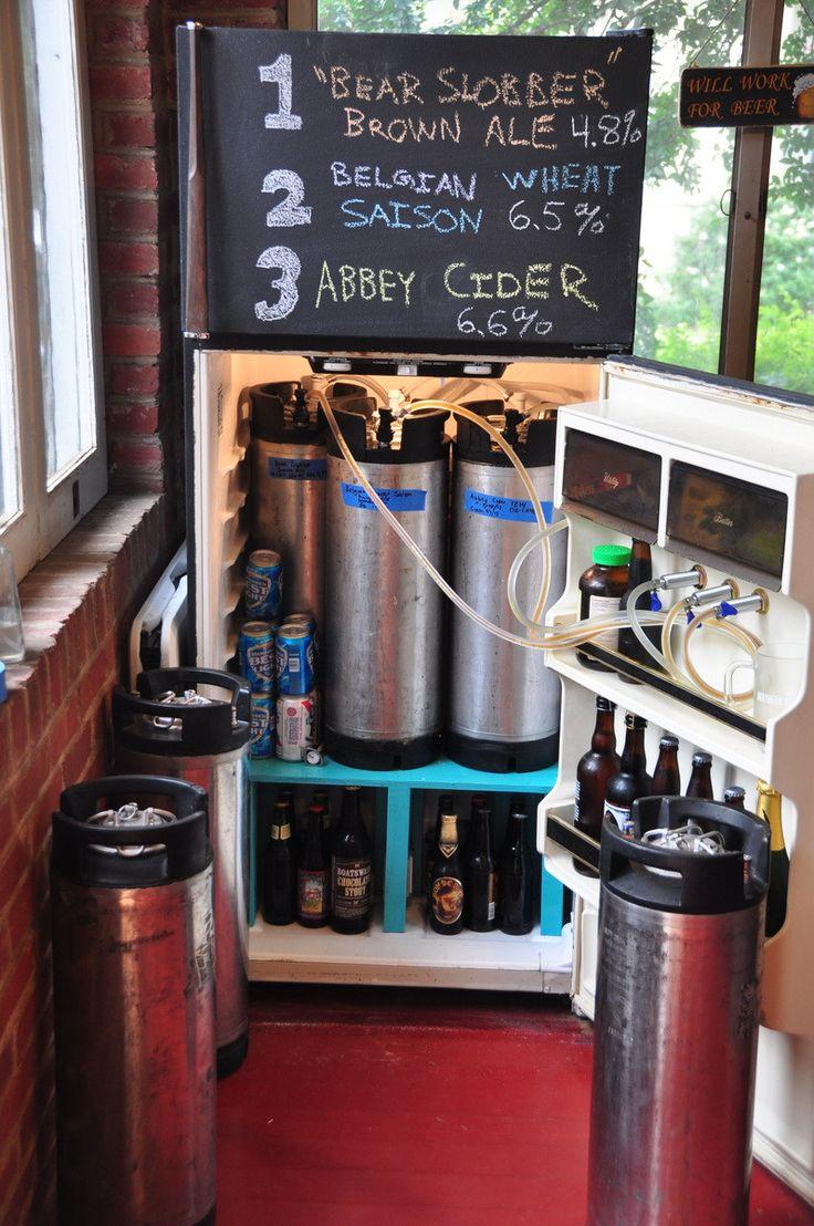 Best Kitchen Gallery: 28 Best Keezers Images On Pinterest Brewing Equipment Craft Beer of Coolest Homebrew Set Up on rachelxblog.com