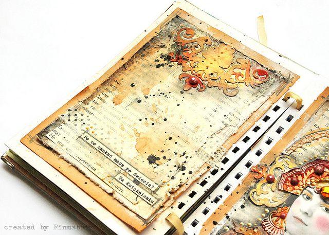 Art Journal #diy #notebook #sketchbook #smashbook #painting #inspiration