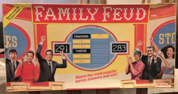 Vintage 1989 Family Feud Board Game  Never Been Used by V1NTA6EJO