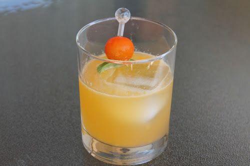 Gin Cocktail Watermelon Basil Bramble Cocktail Recipe ...