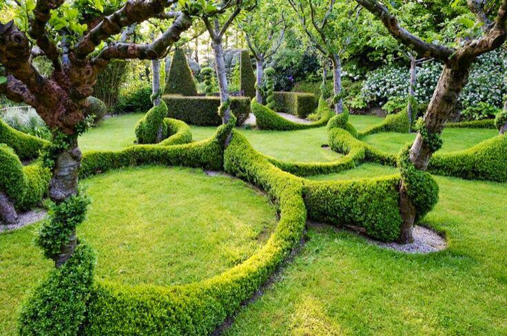 Landscaping perfection.