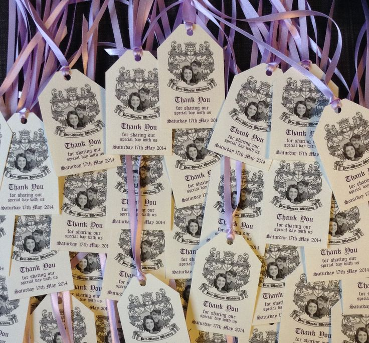 Photo Coat of Arms | Favour | Swing Tag