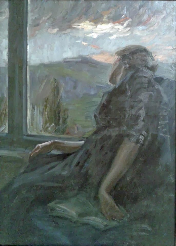 Dobrowolski - Kobieta przy oknie