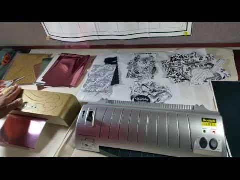 Anna Griffin Minc Machine so Foilicious - YouTube