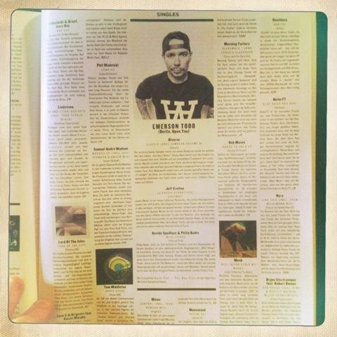 Emerson Todd as the guest reviewer on Groove Magazine, November 2012.