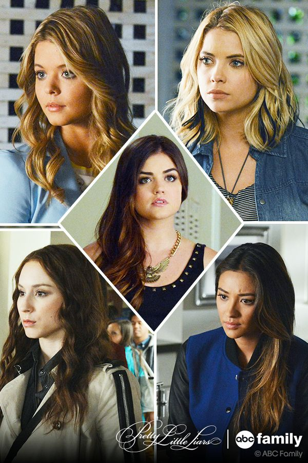 We love the Pretty Little Liars girls!  Watch all new episodes Tuesdays at 8/7c on ABC Family!