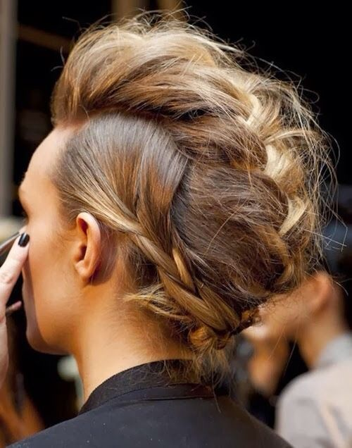 hair braids | Tumblr