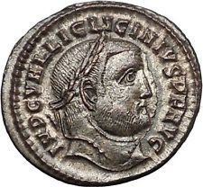 Licinius I Constantine The Great enemy 312AD Ancient Roman Coin Jupiter i54421