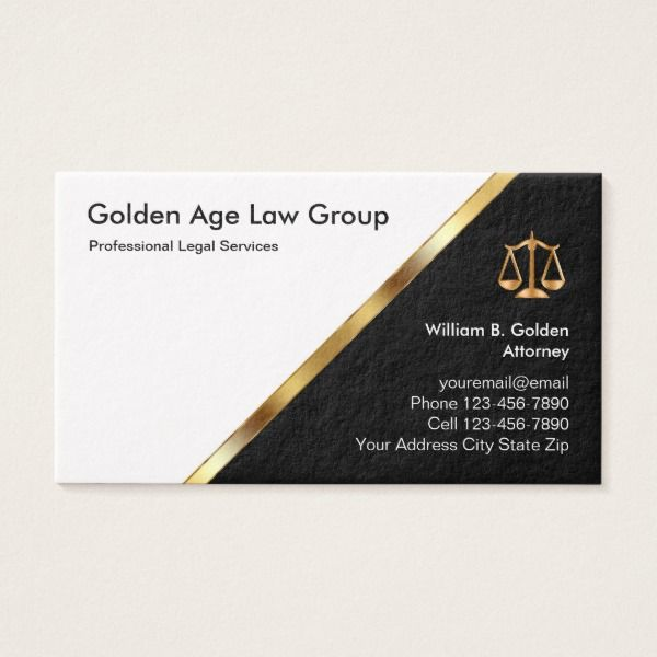 Classy Attorney And Legal Services Business Card Zazzle Com Design Business Card Ideas Lawyer Business Card Attorney Business Cards