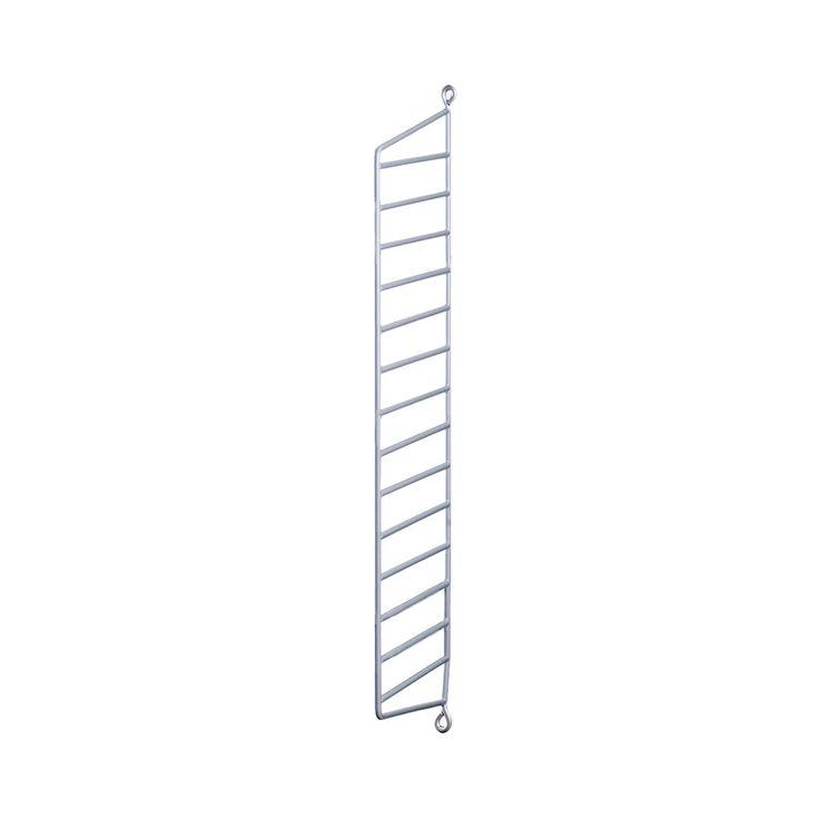 String - Wandleiter für String Regal 75 x 20 cm, grau Grau T:20 B:75