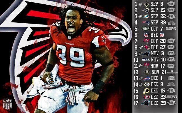 Atlanta falcons 2013 Schedule wallpaper.
