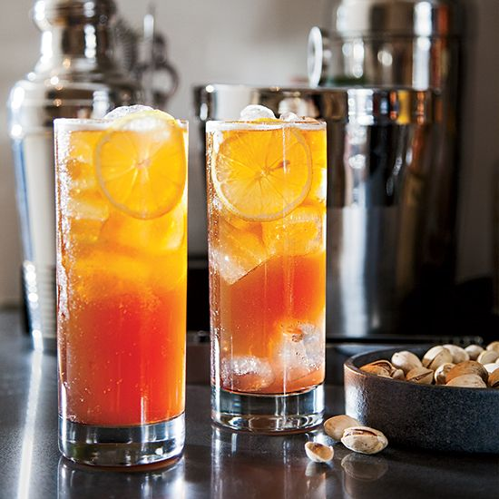 These refreshing cocktails include Riesling sangria with lychees, and blackberry-mint juleps....