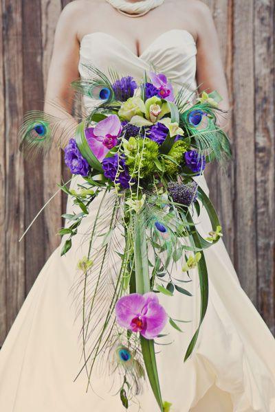 Uh-Ma-Zing Modern Cascade Bouquet - LOVE this!!!!!!