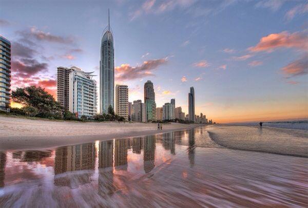 The Gold Coast, Queensland.